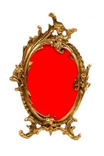 Jugendstil Bilderrahmen Rahmen gold - Vorschau 1