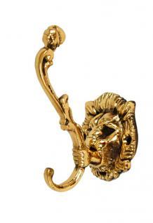 2 Stück Löwenkopf Kleiderhaken - Vorschau 1