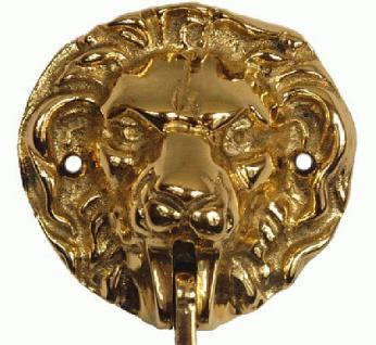 Löwenkopf Kleiderhaken Kleiderstange - Vorschau 2