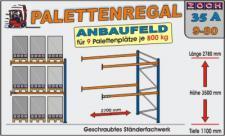 Palettenregal Regal Schwerlastregal 35A9-80