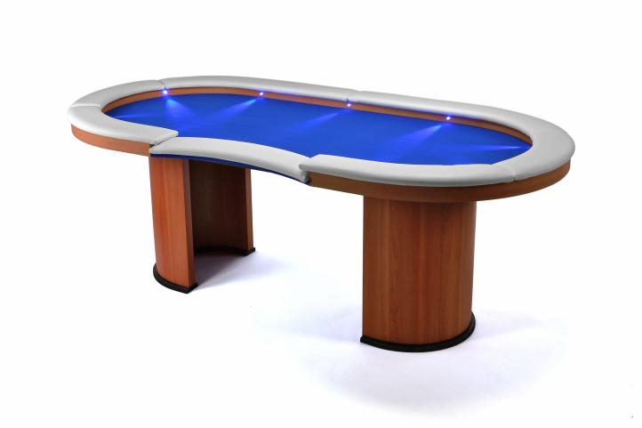 casino tisch profi mit led beleuchtung pokertisch gl cksspiel spielhalle massiv kaufen bei. Black Bedroom Furniture Sets. Home Design Ideas