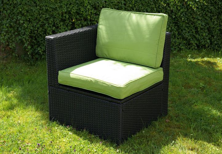 gartenm bel 3tlg sitzgruppe poly rattan lounge garten garnitur couch gr n kaufen bei belan gmbh. Black Bedroom Furniture Sets. Home Design Ideas