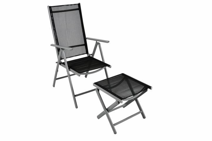 klappstuhl aluminium gartenstuhl alu campingstuhl hocker schwarz metall kaufen bei belan gmbh. Black Bedroom Furniture Sets. Home Design Ideas