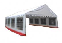 Ersatzdach Dachplane für Partyzelt Pavillon Zelt Festzelt PVC 6 x 8m weiß