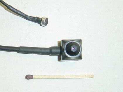 Mini CCD Farbkamera mit abgesetztem Objektiv