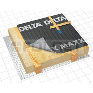 d rken delta maxx unterspannbahn unterdeckbahn 75m. Black Bedroom Furniture Sets. Home Design Ideas