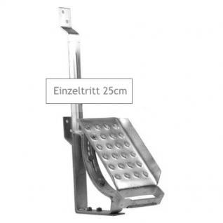EINZELTRITT Dachtritt 25cm Komplett für DACHPFANNE DACHZIEGEL