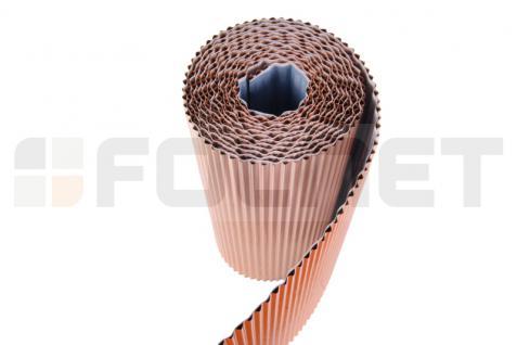 PAROTEC Wandanschlussband / Anti-Moos / Plissiertes Kupferband 0, 3m x 5m - Vorschau 3