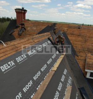 Unterdeckbahn Dörken Delta Roof 75m² für Bitumenschindeln - Vorschau 2