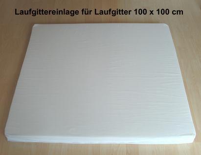 Laufgittereinlage, Laufgittermatratze 100 x 100 cm / NEU!
