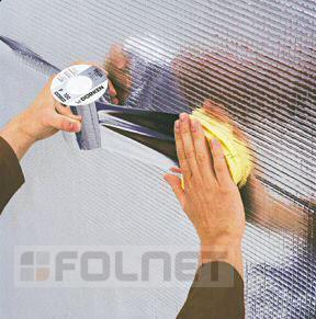 Dörken aluminiumbedampftes Klebeband - Delta Poly-Band - Vorschau 2