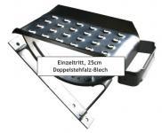 EINZELTRITT Dachtritt 25cm Komplett für Doppelstehfalz-Blech