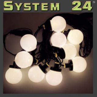 System 24 LED Party-Lichterkette 10er extra warmweiß 491-50