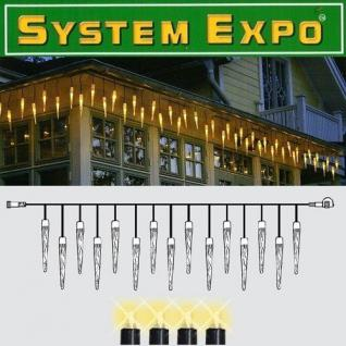 System Expo Icicle-Extra 25 Zapfen 50 Lampen 4x0, 4m Best Season 484-36