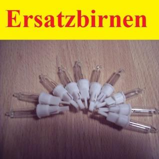 Ersatzlampen / Ersatzbirnen 10 Stück 2, 4V / 0, 168W