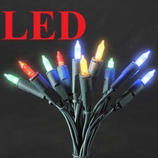 LED Mini-Lichterkette 10er bunt 1, 35m Konstsmide 6300-500