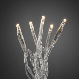 Micro LED Lichterkette 10er warmweiß / transparent ein Strang innen 6350-123