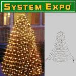 System Expo Lichternetz-Start 194er klar 0, 7x3x2m Best Season 484-33