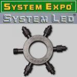System Expo / System LED extra Ring-Verteiler für 5 Anschlüsse 484-21