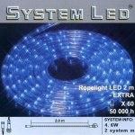 System LED Lichtschlauch Ropelight Extra 2m blau 465-83