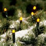 LED Lichterkette 17, 9m 200er gelb Konstsmide 3053-000