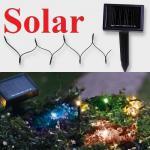 LED Solar-Lichterkette 40er bunt Wintereignung Best Season 477-03