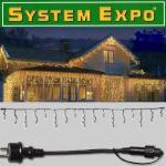 System Expo Eisregen Icicle im Set + Startkabel 24m 484-30 / 484-28