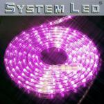 System LED Lichtschlauch Ropelight Extra 6m pink 465-74