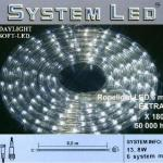 System LED Lichtschlauch Ropelight Extra 6m Daylight 465-87