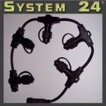 System 24 LED Soft Ring-Verteiler extra schwarz Best Season 490-21