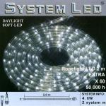 System LED Lichtschlauch Ropelight Extra 2m Daylight 465-80