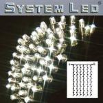 System LED Lichtervorhang extra 102er 1x2m Daylight / schwraz 465-57