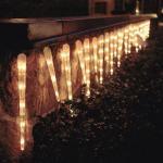 Eiszapfen Lichterkette 32 Zapfen 128 Birnen Konstsmide 2728-002