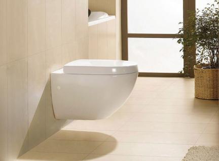 Hänge-Wand - WC mit Nano-Beschichtung | Inkl.WC-Sitz Duroplast inkl.Soft-Close