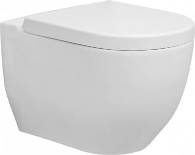 Hänge-WC mit Nano-Beschichtung | WC-Sitz mit Soft-Close