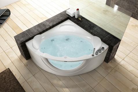 Whirlpool Badewanne 140 x 140 cm