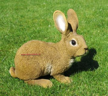 Kaninchen Hase Häschen Figur Statue Skulptur lebensecht