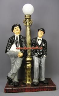Laurel und Hardy Dick und Doof Lampe Dekofigur - Vorschau 1