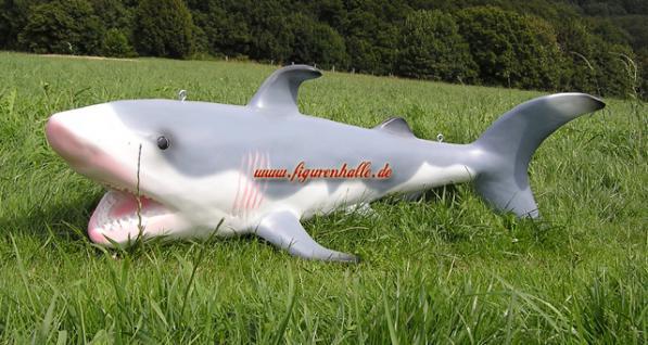 Hai Fisch Haifisch zum aufhängen Figur Statue - Vorschau 3