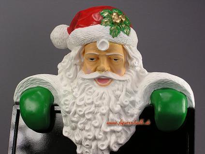 Weihnachts Deko Werbeschild Tafel Weihnachtsmann Werbeaufsteller Nickolaus - Vorschau 2