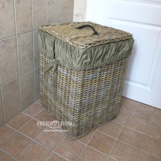 Rattankorb Korb Wäschekorb Impressionen Deko Schlafzimmer - Vorschau 1