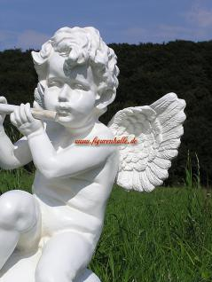 Engel auf Kugel Dekofigur Gartenfigur - Vorschau 2
