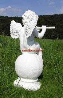Engel auf Kugel Dekofigur Gartenfigur - Vorschau 4