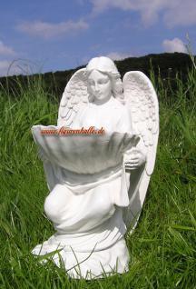 Engel mit Schale Grab Engelchen Romantisch Deko - Vorschau 1