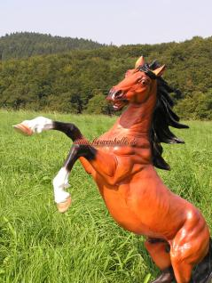 Wildpferd Dekofigur Statue Aufstellfigur Pferde - Vorschau 5