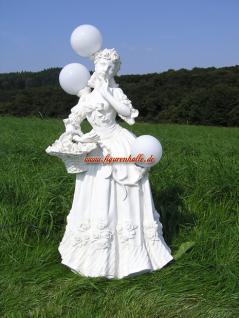 Blumenmädchen als Lampe oder Stehleuchte Romantische Mädchen
