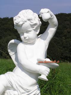 Engel auf Kugel Dekofigur Gartenfigur