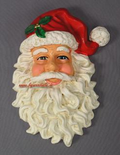 Weihnachtsmann Dekofigur Dekoration Kopf Deko Weihnacht Figur Statue