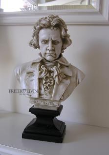 Beethoven Antik Büste Deko Statue Skulptur Klassische Musik Deko