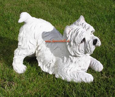 West Highland Terrier Dekofigur Fan Deko Rasse Hund 1